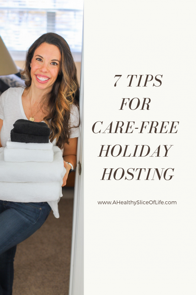 7 Tips for feeling more relaxed while hosting this holiday season.