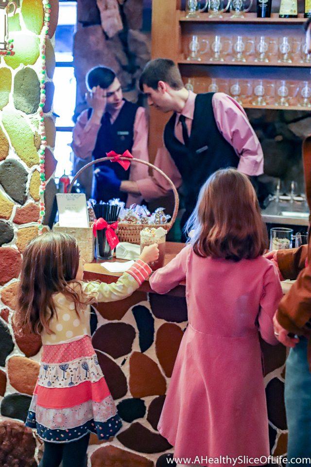 December Grove Park Inn hot chocolate