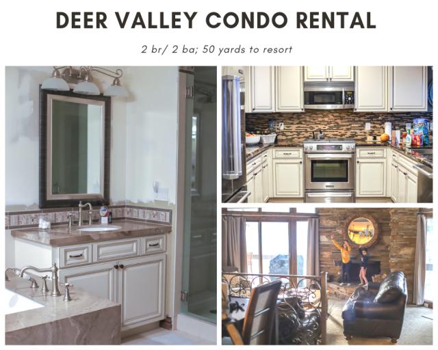 Deer Valley condo family rental