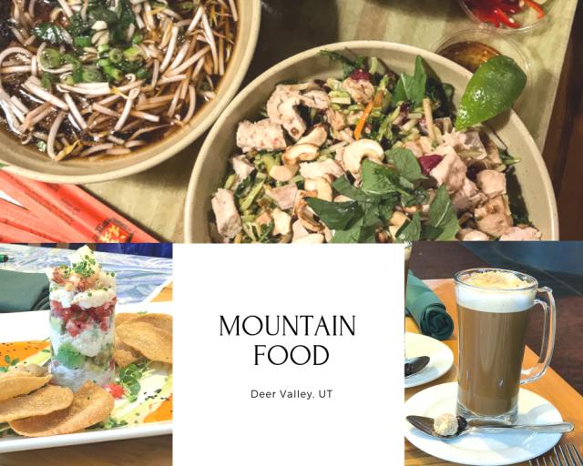 Deer Valley mountain food