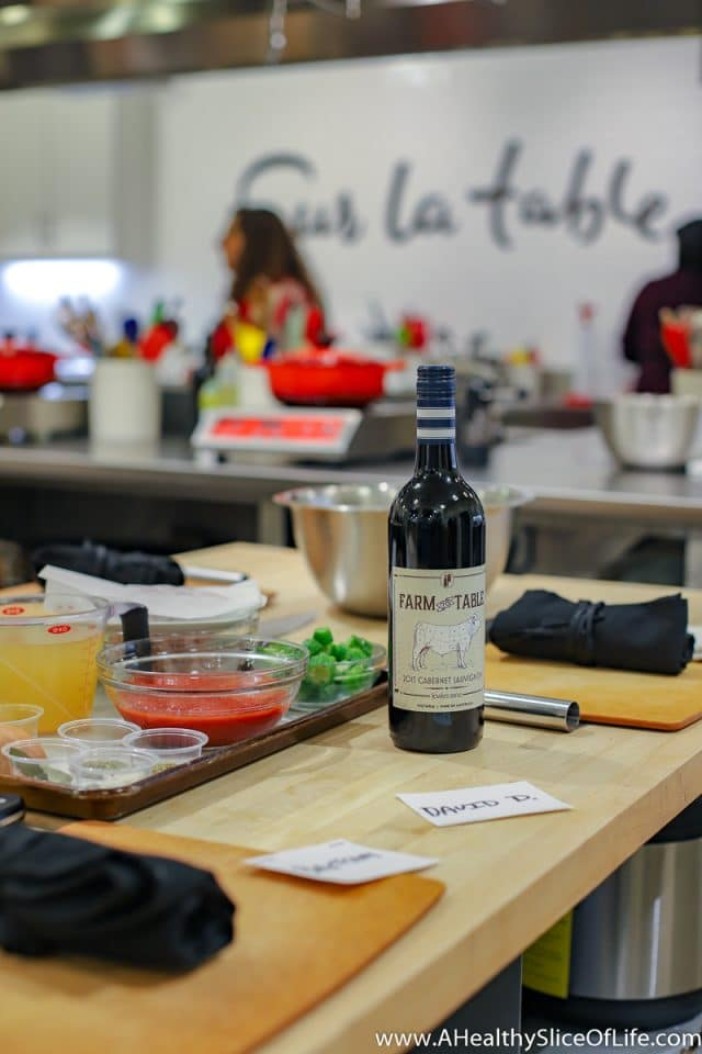 Sur La Table Cooking Class Date Night A Healthy Slice Of