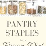 pegan diet pantry staples