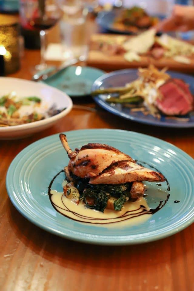 The Corner Kitchen Asheville chicken