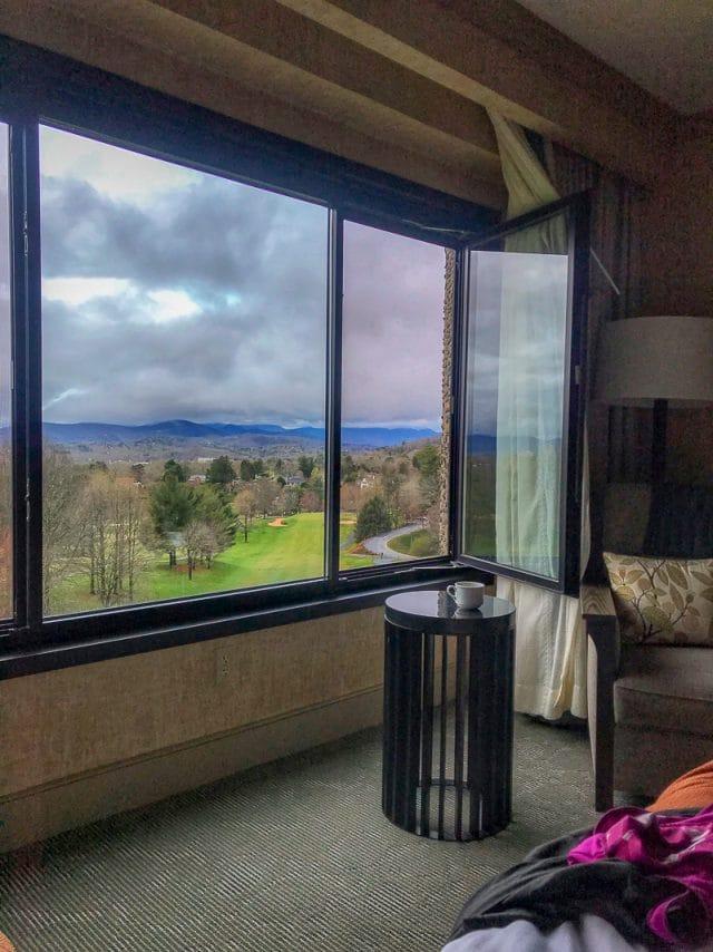 The Omni Grove Park Inn view