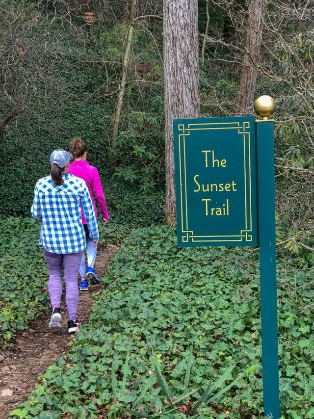 The Omni Grove Park Inn trail