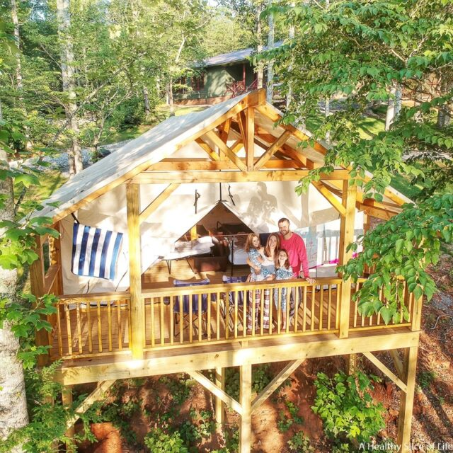 Jellystone Golden Valley Family Glamping | A Healthy Slice