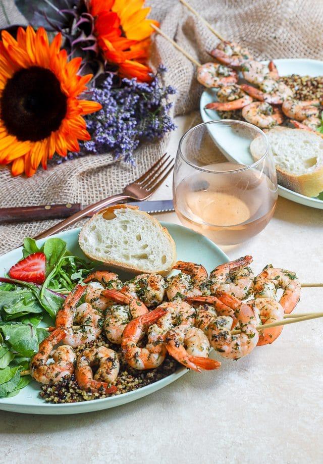 simple shrimp marinade summer dinner
