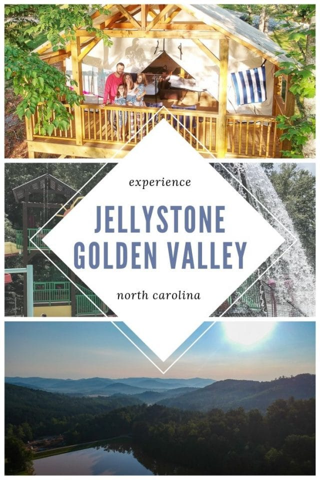 Jellystone Golden Valley family glamping review