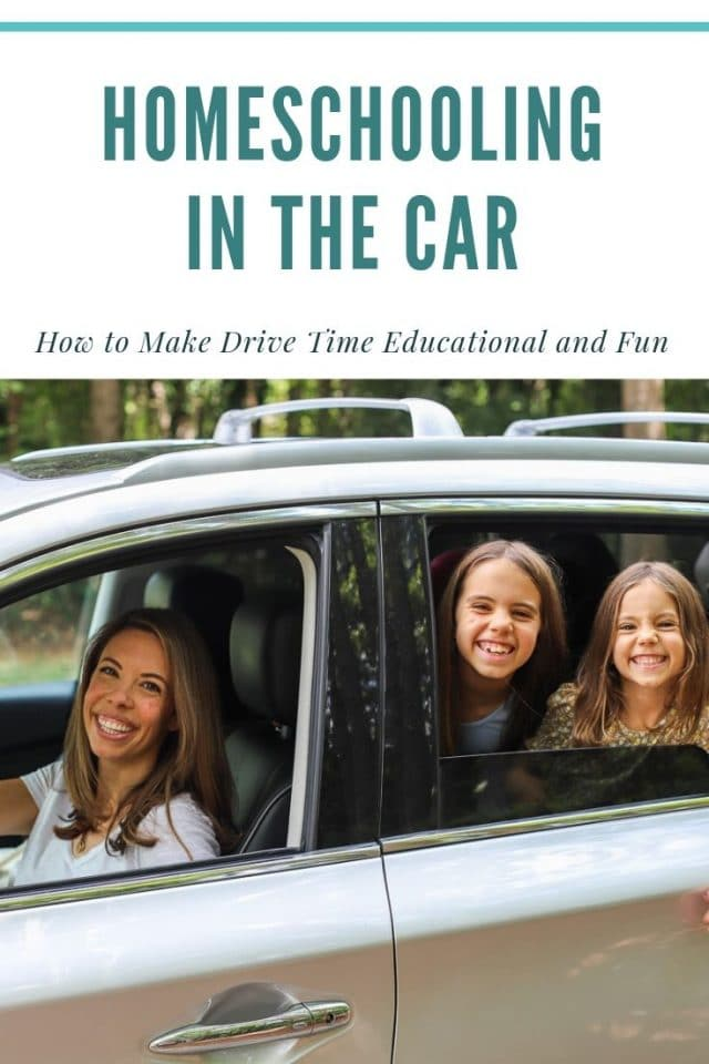 homeschool in the car