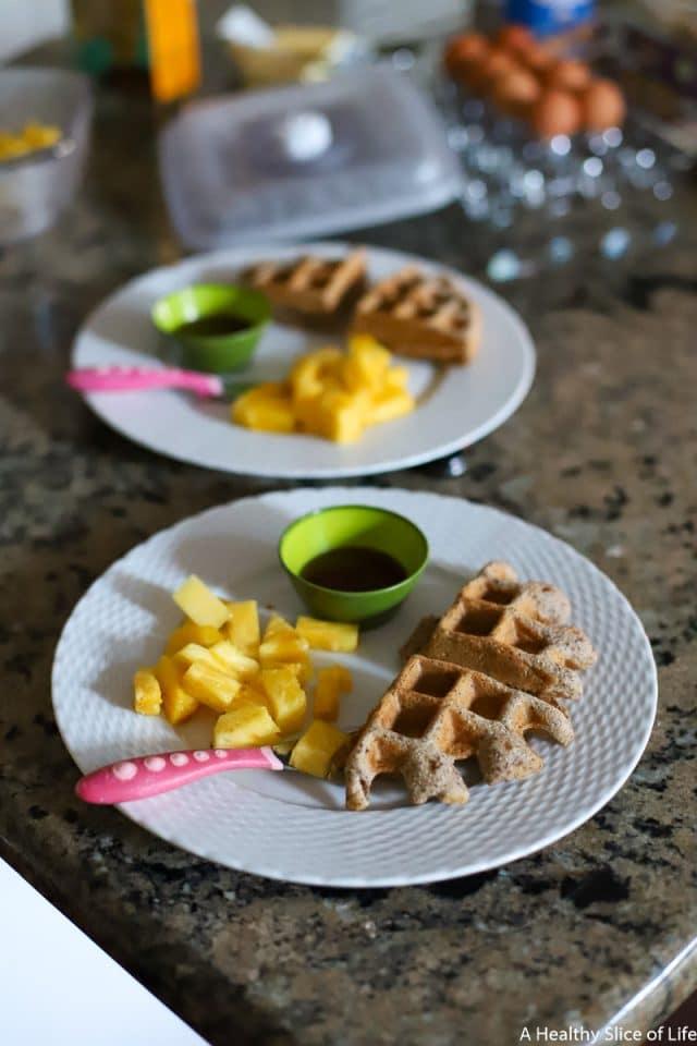 pamela's waffles