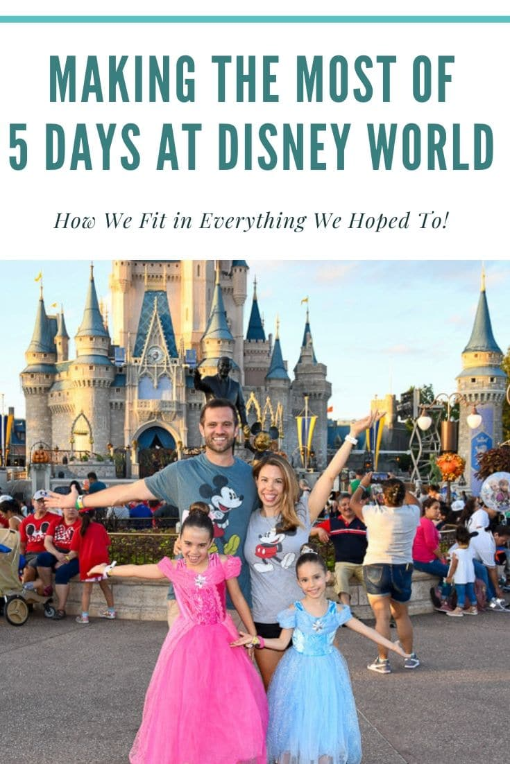 five days at Disney World in October