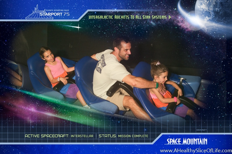 space mountain dad