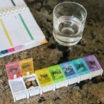 weekly pill organizer for big pills