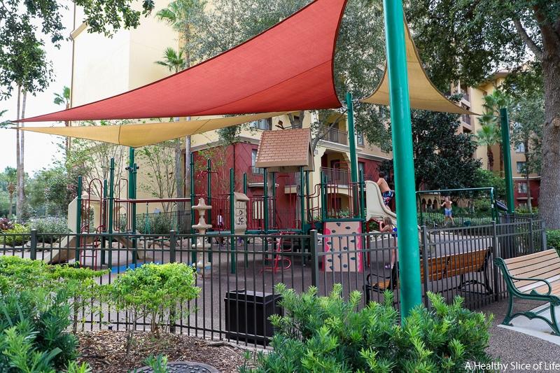 Wyndham Bonnet Creek playground