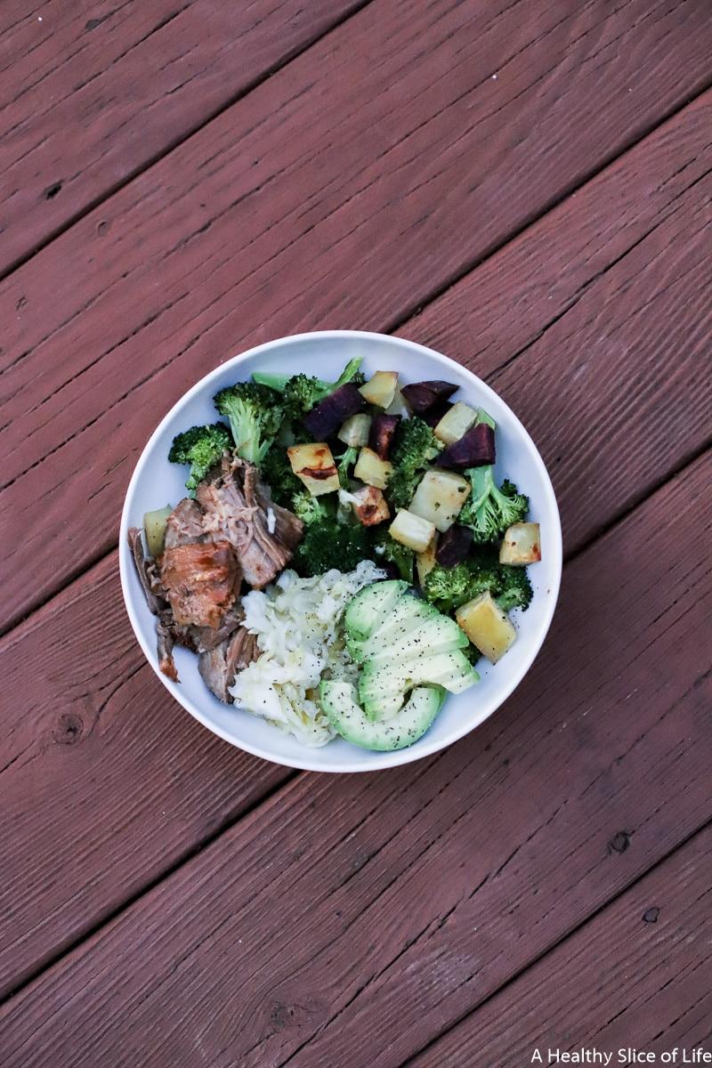 pegan dinner bowl