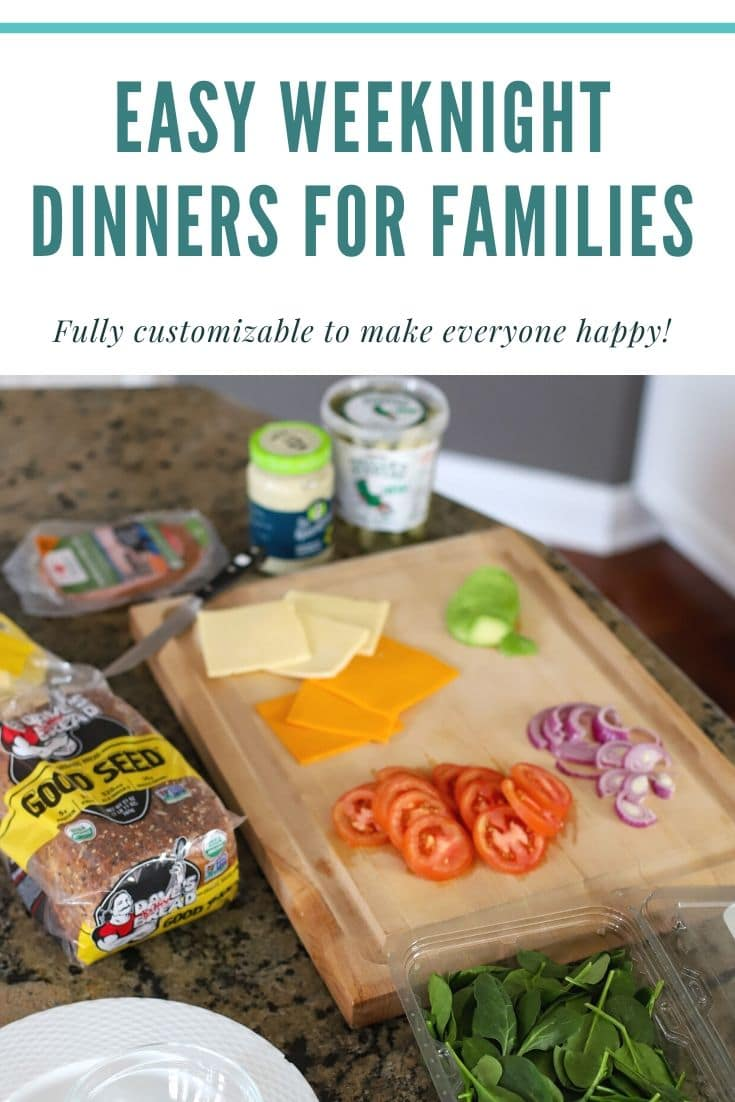 easy weeknight meals for families