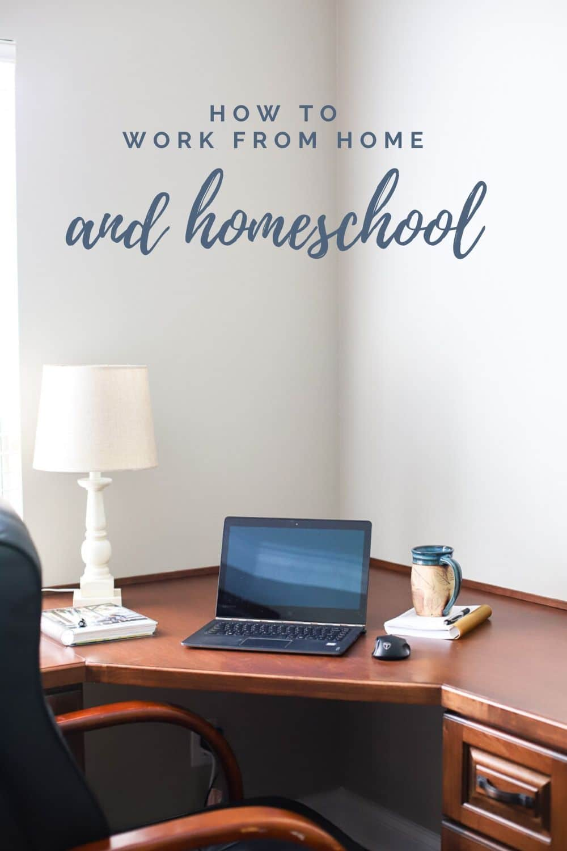 work from home homeschool