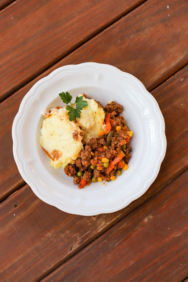 A Healthy Slice of Life - dinner - shepherd's pie