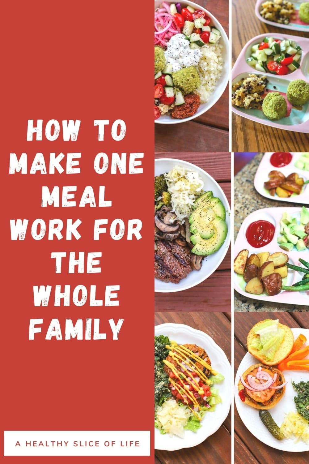only cook one dinner- a healthy slice of life