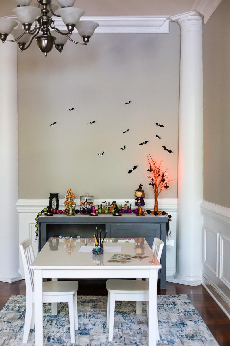 halloween decor bats